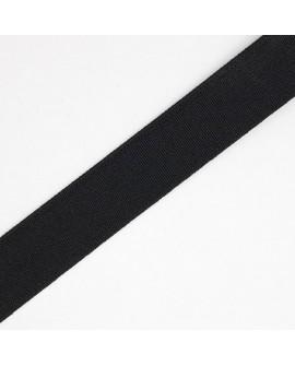 Cinta de goma elástica fuerte, resistente y duradera de color negro 8 cms especial cinturillas, cinturones,..