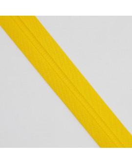 Cinta bies algodón 3 cms Byetsa amarillo